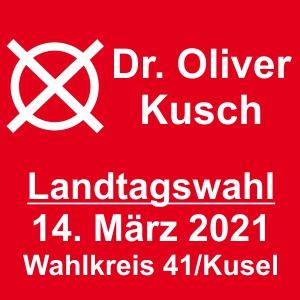 Landtagswahlbild von Dr. Oliver Kusch