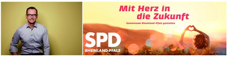 Wahlbild mit Motto von Dr. Oliver Kusch von der SPD Kusel